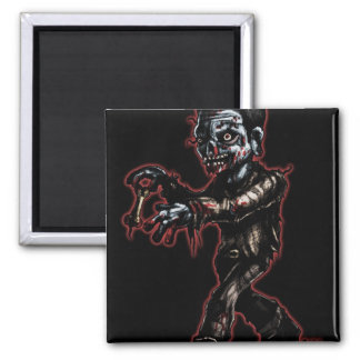 zombieCOR1b 2 Inch Square Magnet