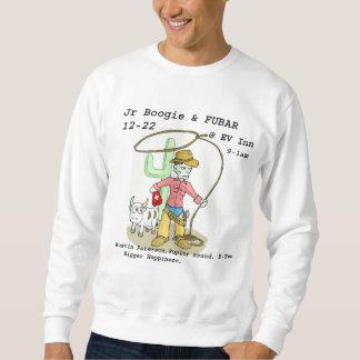 zombieCowboyWhite-300 Pullover Sweatshirt