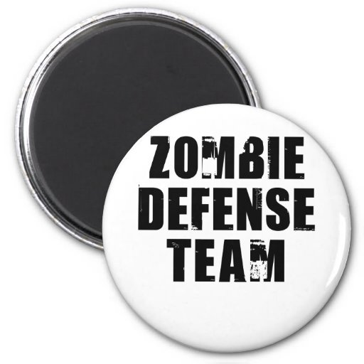 ZombieDefense1 Imán Redondo 5 Cm