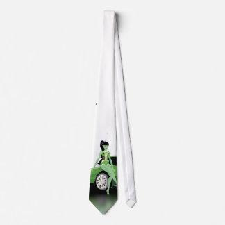 ZombieGirl necktie (to see complete)