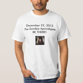 zombielarge, December 22, 2012The Zombie Apocal... T-Shirt
