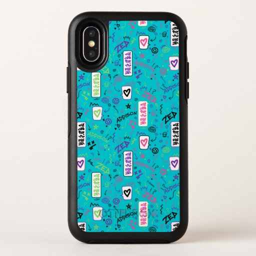 Zombies 2 | 80's Pattern OtterBox Symmetry iPhone X Case