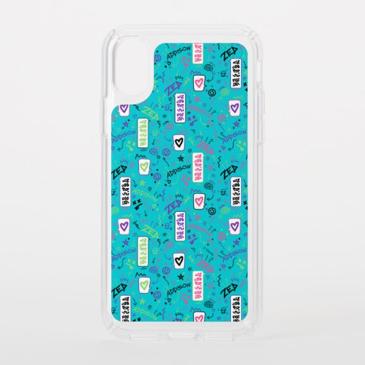Zombies 2 | 80's Pattern Speck iPhone XS Case