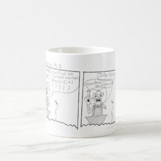 zombies ad coffee mug