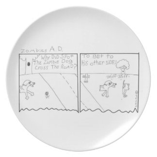 zombies AD Party Plates
