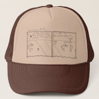 zombies AD Trucker Hat