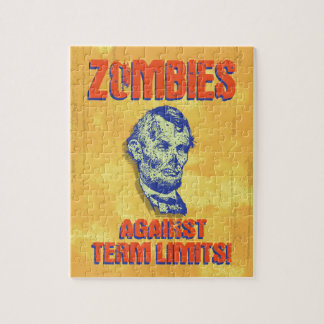 Zombies Against Term Limits! Jigsaw Puzzle