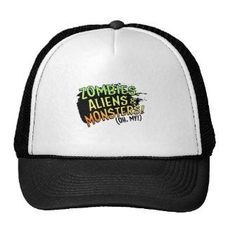 Zombies, Aliens & Monsters (oh my!) Cap