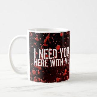 Zombies Apocalypse Humor I Need You Classic White Coffee Mug