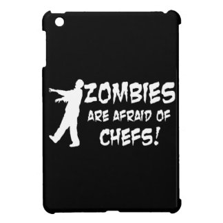Zombies Are Afraid Of Chefs iPad Mini Case