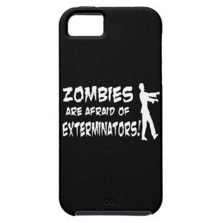 Zombies Are Afraid Of Exterminators iPhone SE/5/5s Case