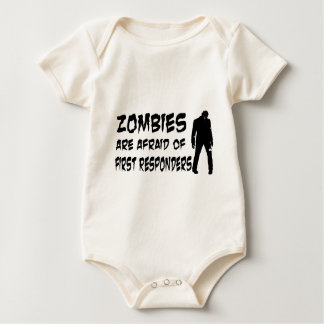 Zombies Are Afraid Of First Responders Bodysuits
