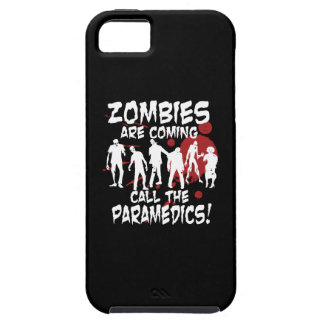 Zombies Are Coming Call The Paramedics iPhone 5 Covers