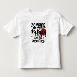 Zombies Are Coming Call The Paramedics Kid Shirt