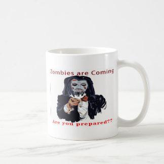 Zombies Are Coming Coffee Mug