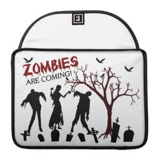 Zombies Are Coming Sleeves For MacBooks