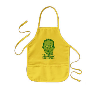 Zombies Are Cute Kids' Apron