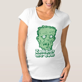 Zombies Are Cute Maternity T-Shirt
