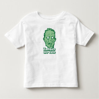 Zombies Are Cute Toddler T-shirt