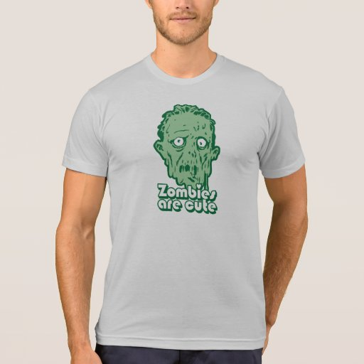 Zombies Are Cute Tshirt