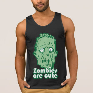 Zombies Are Cute Tanktops