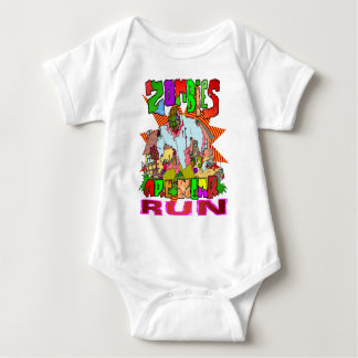Zombies are Near Baby Bodysuit