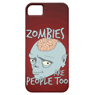 Zombies Are People Too iPhone SE/5/5s Case