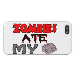 Zombies Ate My Brain iPhone SE/5/5s Case