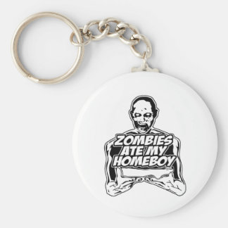 Zombies Ate My Homeboy Keychain