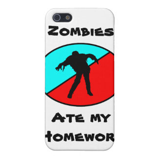 Zombies Ate My Homework! Cover For iPhone SE/5/5s