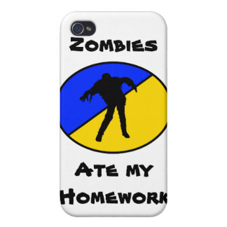 Zombies Ate My Homework! iPhone 4 Covers