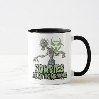 Zombies Ate My Homework Mug