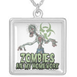 Zombies Ate My Homework Pendants