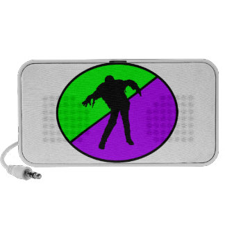 Zombies ate my homework portable speaker