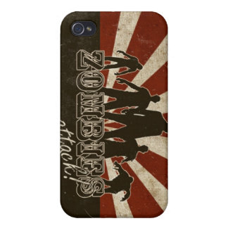 Zombies Attack Cover For iPhone 4