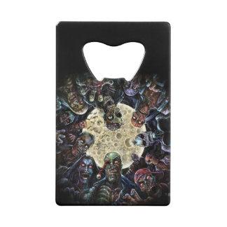 Zombies Attack (Zombie Horde) Credit Card Bottle Opener