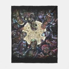 Zombies Attack (Zombie Horde) Fleece Blanket at Zazzle