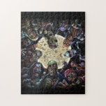 Zombies Attack (Zombie Horde) Jigsaw Puzzle