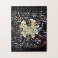 Zombies Attack (zombie Horde) Jigsaw Puzzle at Zazzle