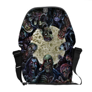 Zombies Attack (Zombie Horde) Messenger Bag