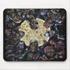 Zombies Attack (zombie Horde) Mouse Pad at Zazzle