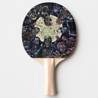 Zombies Attack (Zombie Horde) Ping-Pong Paddle