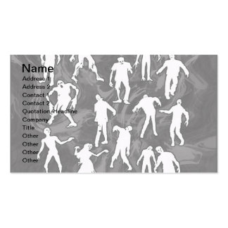 ZOMBIES BUSINESS CARD
