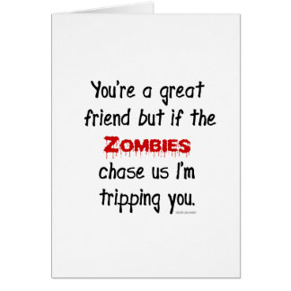 Zombies Card