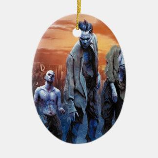 Zombies! Ceramic Ornament