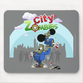 Zombies City V2 Mouse mat Mouse Pad
