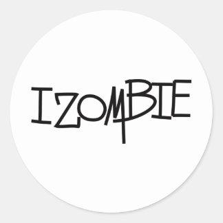 Zombies! Classic Round Sticker