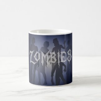Zombies Coffee Mug Horror Theme Art
