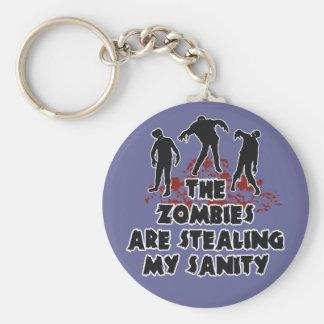 Zombies custom color key chain