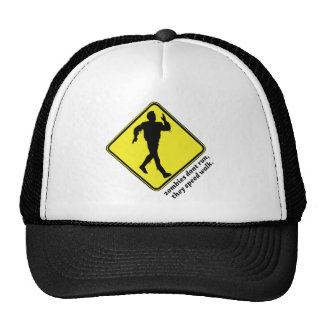 zombies dont run hats